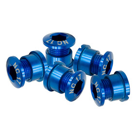 NC-17 Chainring bolt 4 and 5 hole BCD blue